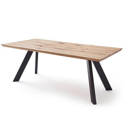 Tische Esstische by Esstisch Baloo 200x100 Cm In Eiche Massiv Metall