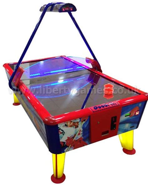 arcade quality air hockey table wik gold commercial air hockey table liberty games