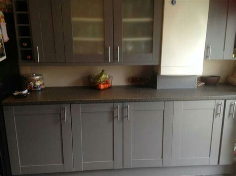 Ronseal Cupboard Paint by Ronseal Cupboard Furniture Paint Granite Grey Satin