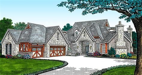 grand french country home fm architectural designs house plans