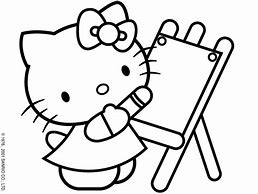 HD Wallpapers Hello Kitty Doctor Coloring Page