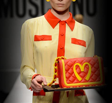 mcdonalds sweater fast food employees outraged moschino 39 s mcdonald 39 s
