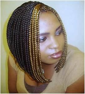 Braided Black Layered Bob Hairstyles Braids Etc