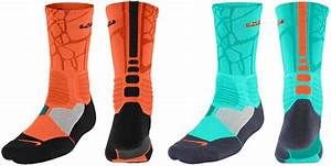 Nike LeBron Socks to Wear with the Nike LEBRON 12 NSRL ...