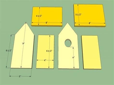 robin bird house plans wooden bird house plans