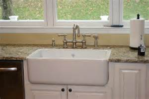 installing kitchen sink faucet golden boys and me diy shaw 39 s farmhouse sink installation