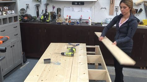build wood tabletop youtube