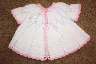Free Crochet Baby Sweater Pattern