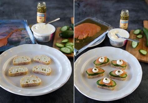 easy smoked salmon canapes easy canapés recipes la fuji