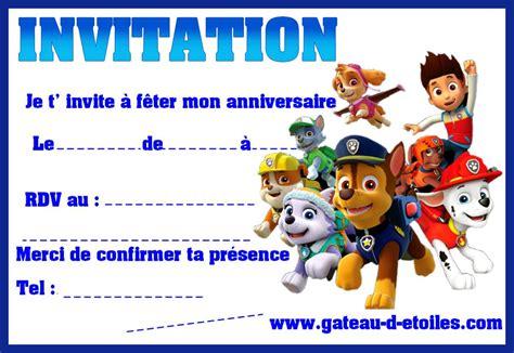 Invitations Gratuites Pat Patrouilles