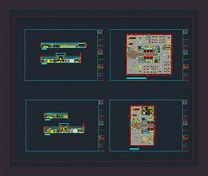 Open Plan Office Dwg Plan For Autocad  U2022 Designs Cad