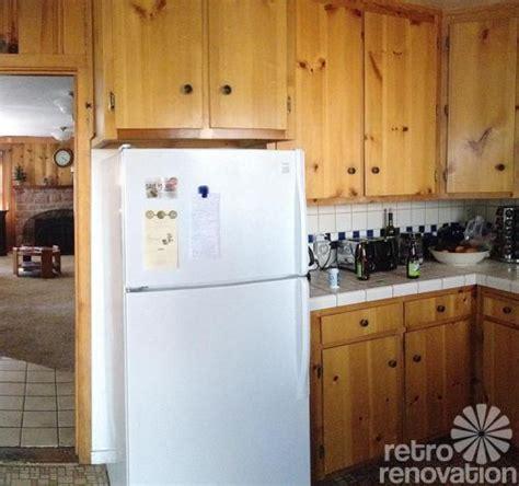 retro design dilemma choosing colors for michaela s knotty pine kitchen retro renovation