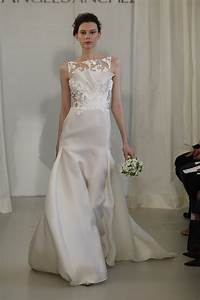 gown by angel sanchez this one had it all architectural With architectural wedding dresses