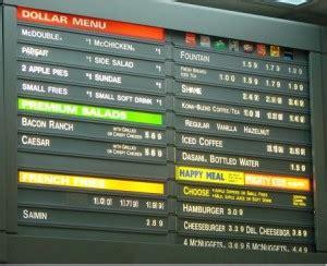 mcdonalds dollar menu    facelift