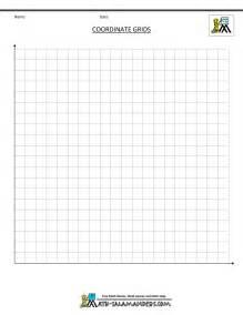 1st quadrant grid coordinate plane grid