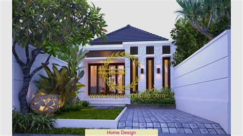 desain rumah modern  lantai  kamar youtube