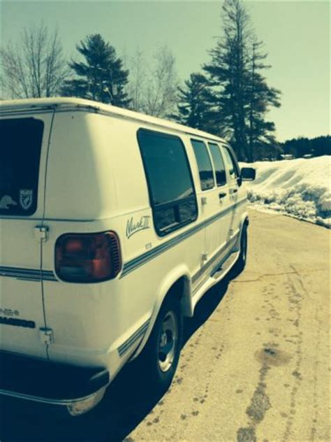 sell used 1992 dodge ram van white normal wear and tear in fountain valley california sell used 1997 dodge ram van 2500 mark iii se custom excellant condition white in