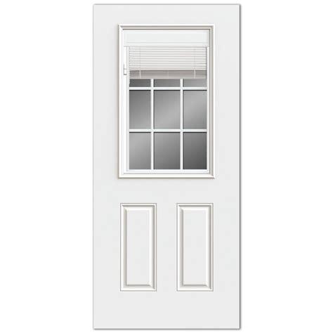 exterior door with blinds between glass reliabilt reliabilt 2 panel mini blinds between glass