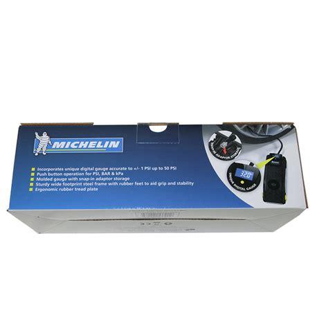 michelin digital single barrel foot pump tyre pump