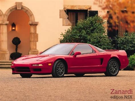 acura nsx zanardi edition pictures specifications