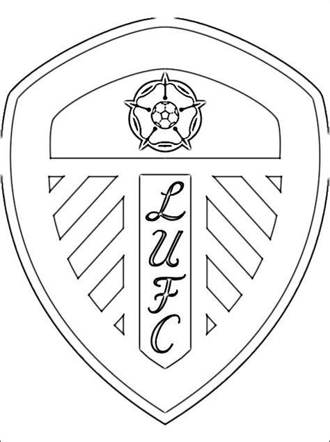 Dortmund Kleurplaat by Kleurplaat Met Leeds United Afc Embleem Gratis Kleurplaten