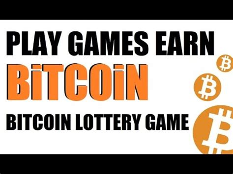 Bitcoin earning sites pay small amounts of bitcoin for completing required tasks. Earn Bitcoin Online, Bitcoin Games to Earn Bitcoin, Bitcoin Lottery, Fairmillions, Payment ...