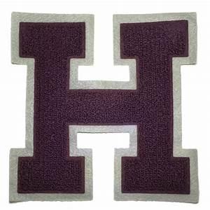 chenille varsity letterman jacket patch h letter premium With chenille letters for varsity jackets