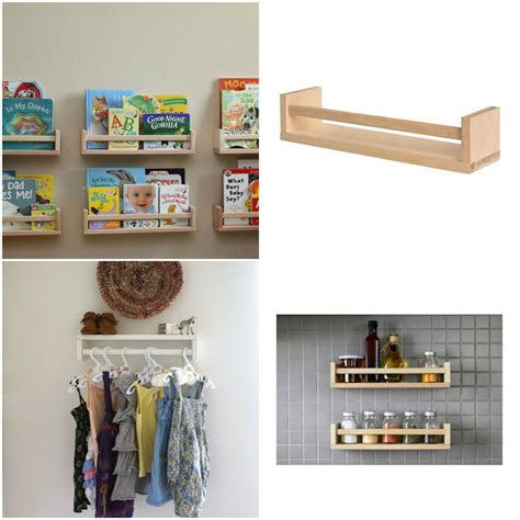 ikea bekvam wooden spice rack book shelf bathroom