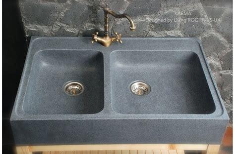 granite kitchen sinks uk 900mm genuine granite farmhouse kitchen sink karma 3895