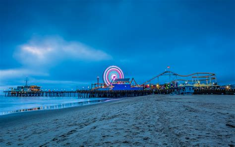 Santa monica was originally developed as a seaside retreat at the turn of the 20th century. California's Santa Monica Pier Is Getting a 'Stranger ...