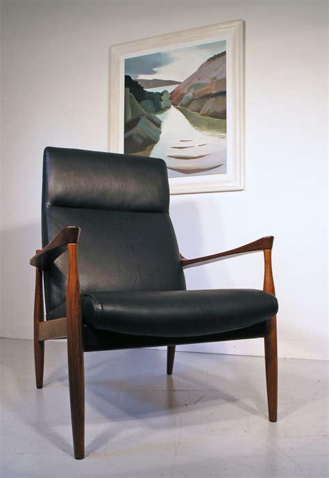 kofod larsen leather lounge chair range