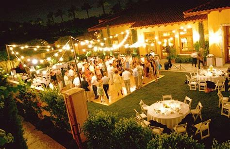 Wedding Reception In Backyard by Adventure Backyard Outdoor Wedding