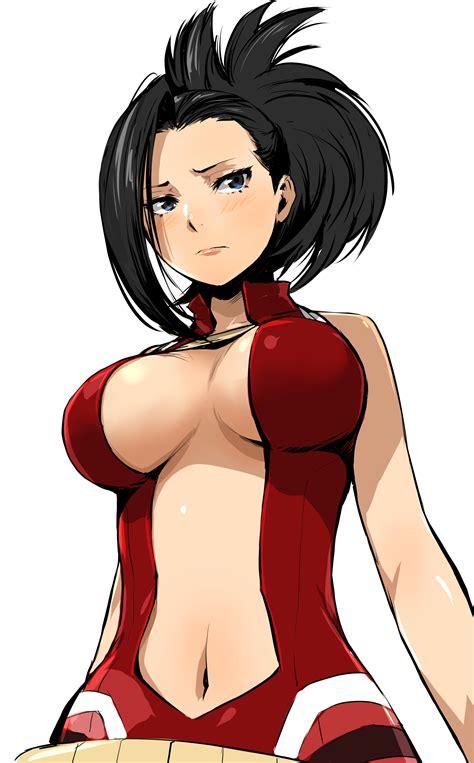 yaoyorozu momo boku no hero academia drawn by enami katsumi danbooru