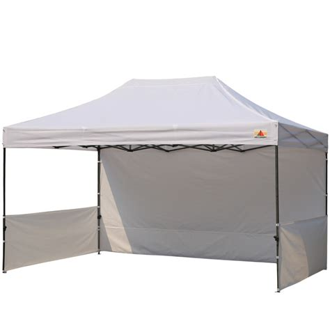 10 x 15 canopy abccanopy 10x15 deluxe white pop up canopy trade show both