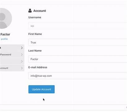 True Factor Auth Plugin Password Protect Form