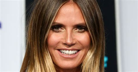 Heidi Klum Eye Popping Cleavage Takes Centre Stage