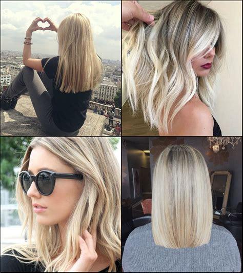 the perfect medium blonde hairstyles 2017 pretty