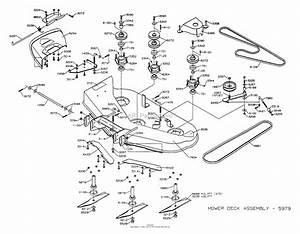 Dixon Ztr 4515b  2001  Parts Diagram For Mower Deck 42 U0026quot