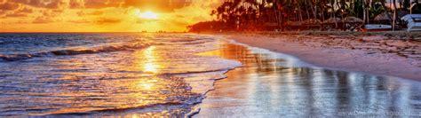 Samsung Note 7 Wallpaper Sunset Tropical Ocean Sand Sea Palms Beach Shore Wallpapers Desktop Background