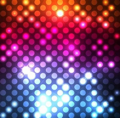 vector abstract light dots graphic background vector art