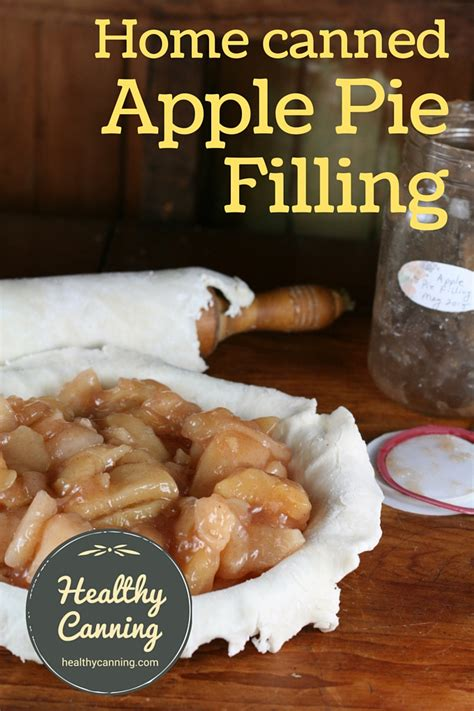 Crazy as it sounds, recipes with canned pie fillings aren't just for making pies. Canned Apple Pie Filling - Healthy Canning