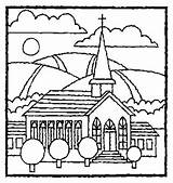 Coloring Pages Easter Christian Church Calvary Glass Stained Template Egg Windows Churches Familia sketch template