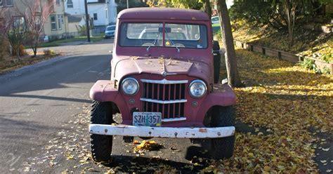 street peep  willys jeep truck