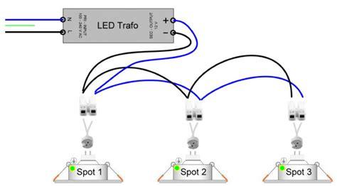 led einbaustrahler mit trafo led spots fachgerecht einbauen anschlie 223 en lichtdiscount de