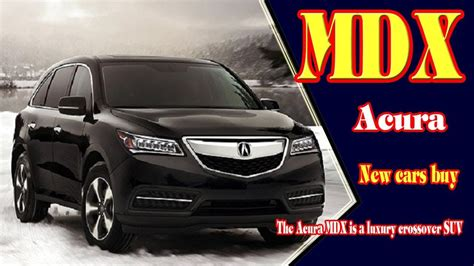 2019 Acura Mdx  2019 Acura Mdx Advance Package 2019