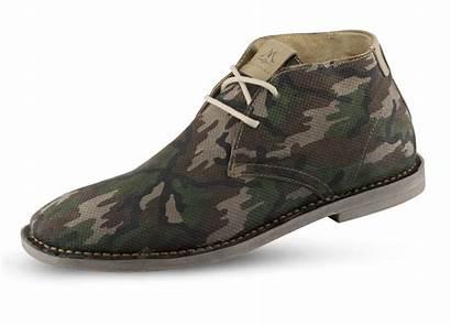 Camouflage Chukka Mens Leather