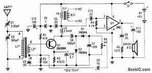 Reflex Radio Receiver - Signal Processing - Circuit Diagram