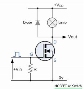 Mosfet Switch And Mosfet Amplifier