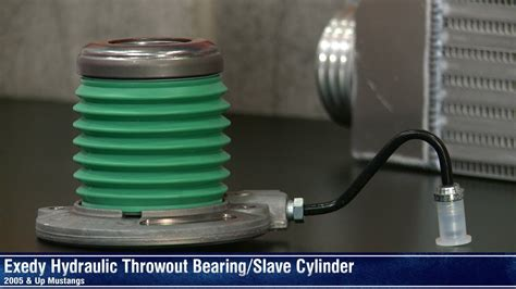 mustang exedy hydraulic throwout bearingslave cylinder