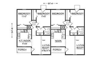 The Plans For Duplex by Duplex Plans Studio Design Gallery Best Design